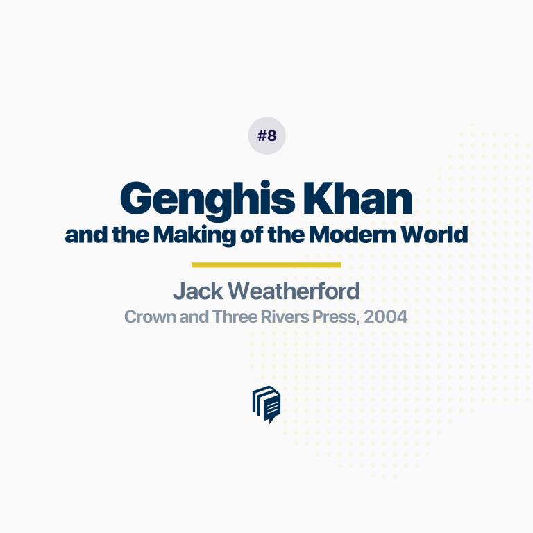 چنگیزخان و ساخت دنیای مدرن