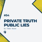 خلاصه کتاب حقایق نهان دروغ های عیان